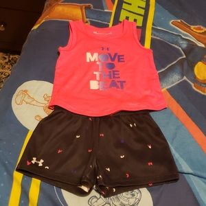 Under Armour marching set